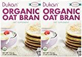 Dukan Diet Organic Oat Bran - 2 Pack – 17.6 oz. box