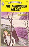 The Forbidden Valley (0373017316) by Essie Summers