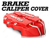 MAZDA 3 6 MAZDASPEED RED BREMBO LOOK BRAKE CALIPER COVER KIT FRONT &amp; REAR 4 PCS