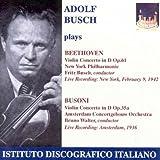 Beethoven/Busoni: Violin Concs