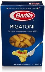 Barilla Rigatoni Pasta, 16 Oz