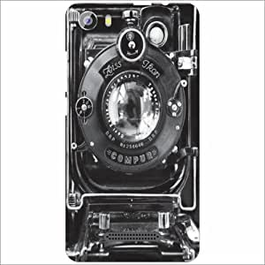 Micromax Spark2 Q334 Back Cover - Silicon Grey Designer Cases