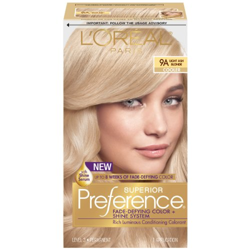 Oreal Superior Preference Haircolor Very Light Beige Blonde 111   LONG ...