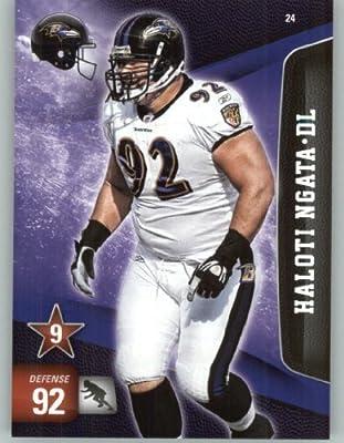 2011 Panini Adrenalyn XL Football Card #24 Haloti Ngata - Baltimore Ravens - NFL Trading Card