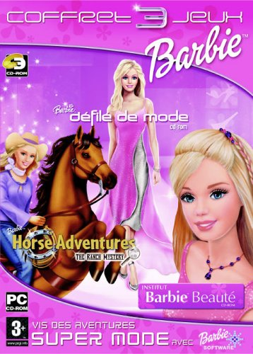 Barbie Fashion Pack (Barbie Institut Beauté + Défilé De Mode + My Scene) (vf)