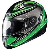 HJC Zader Men's CL-MAX II Bluetooth Full Face Motorcycle Helmet - MC-4 / 2X-Large