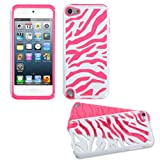 Fusion Dual Layer Hybrid White Zebra/Electric Pink Protector Case for Apple iPod Touch 5 Reviews