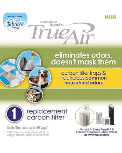Cheap Hamilton Beach True Air Carbon Filter for Common Household Odors 04290G (B004QOM8P6)