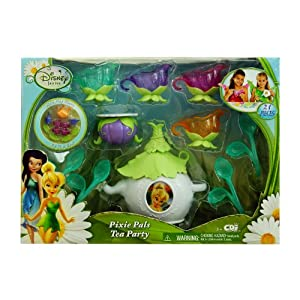 Disney Fairies Tinker Bell Garden Party Tea Set
