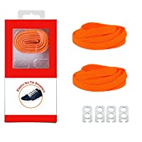 DB Sports Laces (No Tie Shoelaces that Lock)Athletic Elastic Shoelaces for Running Gear Accessories Mens Womens or Kids Shoes Fitness Exercise Equipment ...