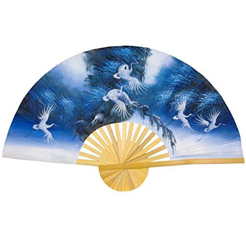 Oriental Furniture Exhultation in Blue Fan - 40