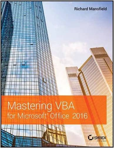 Mastering VBA For Microsoft Access 2016