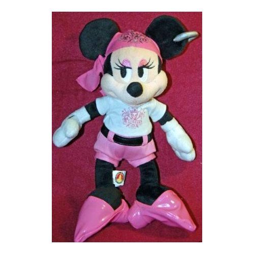 "Disney Mickey Mouse Club House Pirate Minnie Mouse, Pirate Princess 9"" Plush Doll Toy - 1"