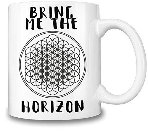 Bring Me The Horizon Logo Tazza Coffee Mug Ceramic Coffee Tea Beverage Kitchen Mugs By Genuine Fan Merchandise