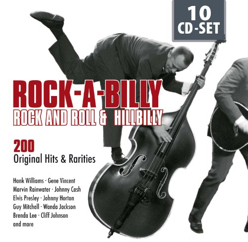 Rockabilly, Rock'n Roll & Hillbilly by Hank Williams, Marvin Rainwater, Gene Vincent, Johnny Cash and Elvis Presley