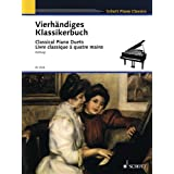 Vierhändiges Klassikerbuch: Leichte Originalwerke klassischer Meister. Klavier 4-händig.: Leichte Originalwerke...