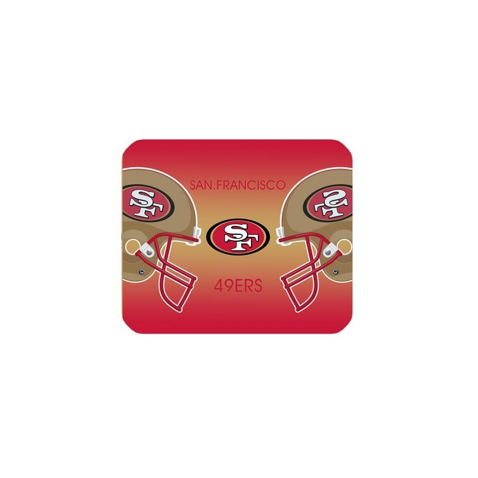 Christmas Gifts NFL San Francisco 49ers High Quality Printing Square Mouse Pad Design Your Own Computer Mousepad For Christmas Gifts  Consumerelectronics