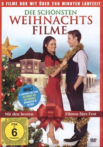 Die schönsten Weihnachtsfilme (Inhalt: A Christmas Love Story - Das Wunder von San Francisco - Weihnachten im Oktober )