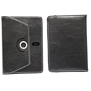 Jo Jo Rotating Flip Flap Case Cover Pouch Carry For Celkon Ct 1 Black