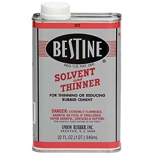 Amazon Com Bestine Solvent And Thinner 1 Quart Arts