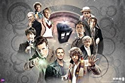 1 X Doctor Who - Doctors Collage TV Poster by The Picture Peddler Inc.