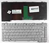 Toshiba Satellite A200-1AI Grey UK Replacement Laptop Keyboard
