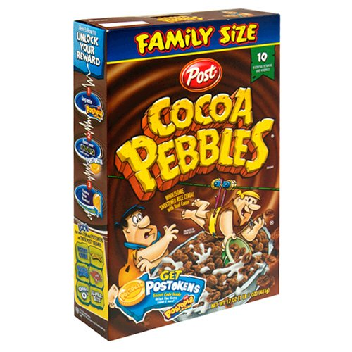 Buy Post Cocoa Pebbles Cereal, 17-Ounce Boxes (Pack of 5) (Post, Health & Personal Care, Products, Food & Snacks, Breakfast Foods, Cereals)