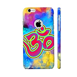 Colorpur Om Be Spiritual On Multicolor Designer Mobile Phone Case Back Cover For Apple iPhone 6 / 6s with hole for logo | Artist: Sangeetha
