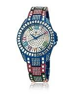 Burgmeister Reloj Bollywood Crazy (Plata / Azul)