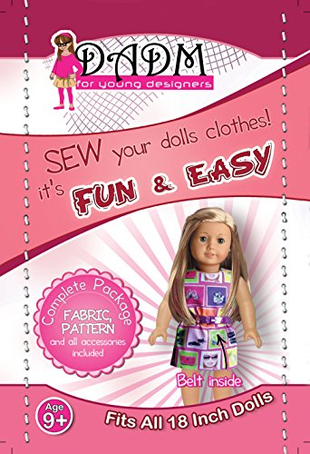 18 inch Doll Clothes Kids Sewing Project Kit