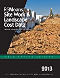 RS Means Site Work & Landscaping Cost Data 2013 Books