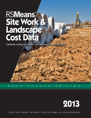 RS Means Site Work & Landscape Cost Data 2013 - RS Means - RS-SiteWork - ISBN: 1936335735 - ISBN-13: 9781936335732