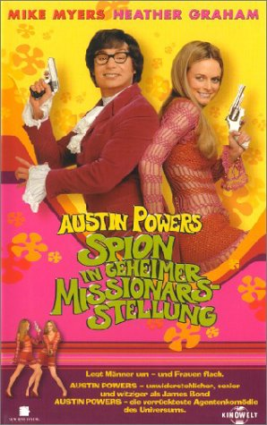 Austin Powers 2: The Spy Who Shagged Me [VHS] [Import]
