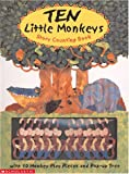 Ten Little Monkeys (0439262402) by Faulkner, Keith