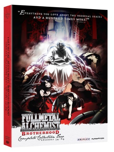 Cover art for  Fullmetal Alchemist: Brotherhood - Complete Collection Two