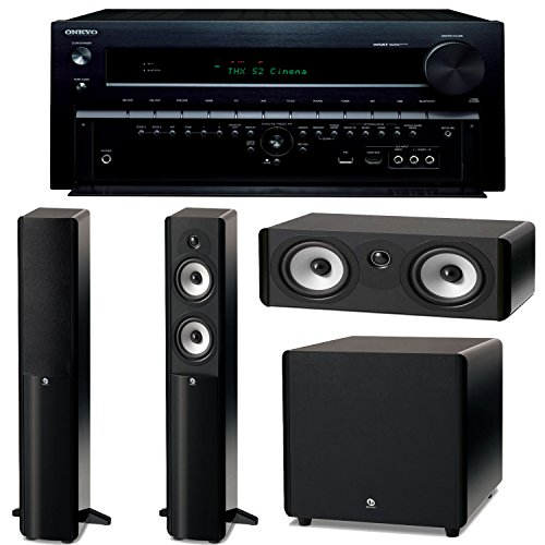 Onkyo Tx-Nr838 7.2-Channel Network A/V Receiver Plus A Boston Acoustics A-Series Home Theater Speaker Package! (A250, A225C & Asw250)