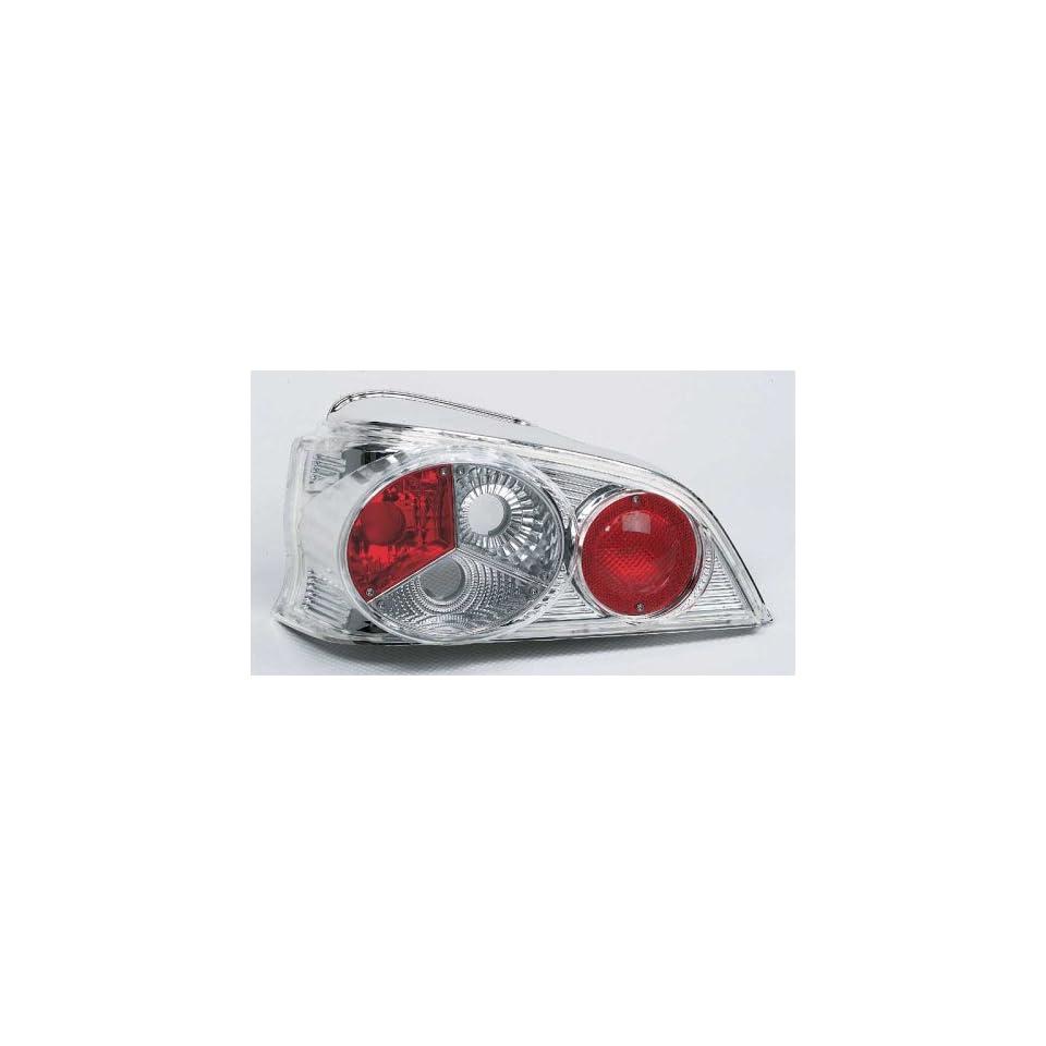 2 x R/ückleuchten Heckleuchte 206 98-09 chrome style