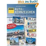 ADAC: Autokennzeichen Deutschland & Europa