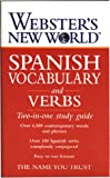 img - for Webster's New World Spanish Vocabulary and Verbs: Two-in-one Study Guide book / textbook / text book