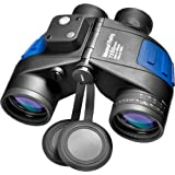 BARSKA Deep Sea 7x50 Waterproof Floating Binocular w/ Internal Rangefinder & Compass