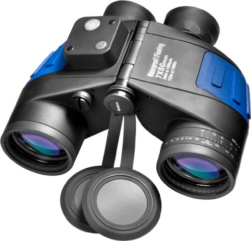 BARSKA-Deep-Sea-7×50-Waterproof-Floating-Binocular-w-Internal-Rangefinder-Compass