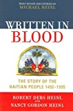 img - for Written in Blood: The Story of the Haitian People 1492-1995 book / textbook / text book