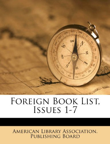 Foreign Book List, Issues 1-7