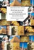 Einführung in die altägyptische Literaturgeschichte I:  Altes und Mittleres Reich
