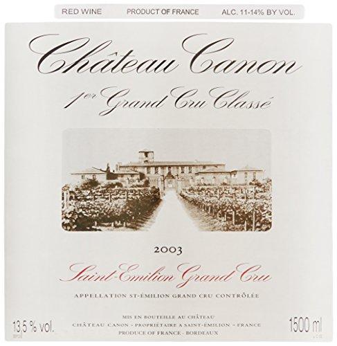 2003 Chateau Canon St.-Emilion Grand Cru 1.5 L
