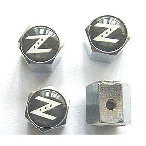 Nissan Z Anti-theft Car Wheel Tire Valve Stem Caps