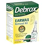 Debrox Earwax Removal Kit, 1 kit 0.5 fl oz (15 ml)