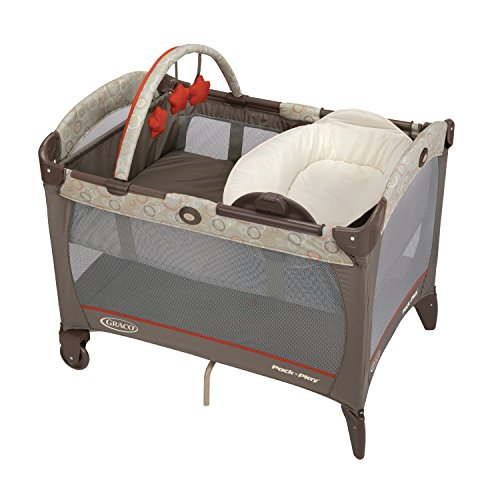 Sale!! Graco Pack 'N Play Playard with Reversible Napper and Changer, Forecaster