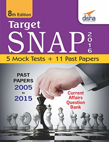 Target SNAP 2016 (Past Papers 2005 - 2015) + 5 Mock Tests
