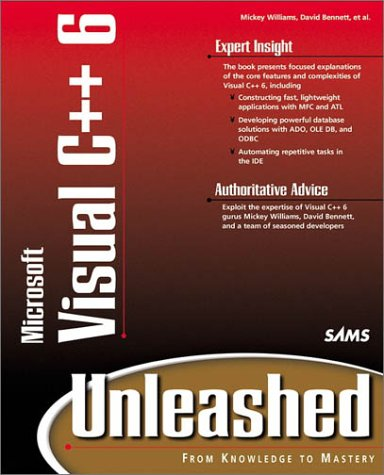 Mfc Programming With Visual C++ 6 Unleashed